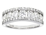 Pre-Owned Moissanite Platineve Ring 1.88ctw D.E.W