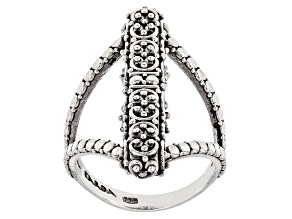 Pre-Owned Sterling Silver Filigree Ring