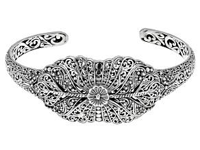 Pre-Owned Sterling Silver Filigree Bracelet