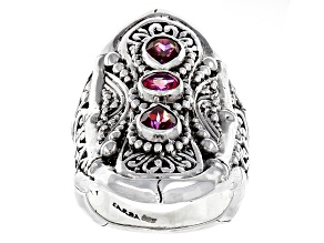Pre-Owned Fireflies™ Mystic Topaz® Silver Ring 1.89ctw