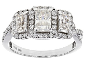 Pre-Owned Moissanite Platineve™ Ring 1.88ctw DEW