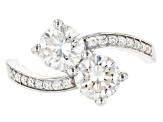 Pre-Owned Moissanite Ring Platineve™ 2.16ctw DEW