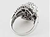Pre-Owned Diamond 10k White Gold Ring 2.10ctw