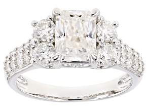 Pre-Owned Moissanite Platineve Ring 2.84ctw D.E.W