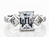 Pre-Owned Cubic Zirconia Platineve Ring 5.21ctw