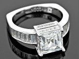 Pre-Owned Cubic Zirconia Platineve Ring 5.93ctw