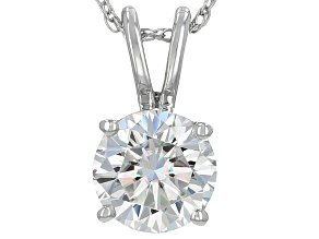 Pre-Owned Moissanite Platineve™ Pendant 1.50ct DEW.