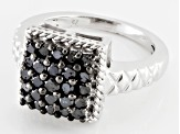Pre-Owned Diamond, Rhodium Over Sterling Siler Ring, 1.00ctw