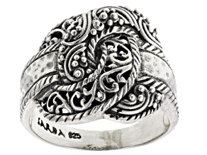 Pre-Owned Sterling Silver Knot Ring