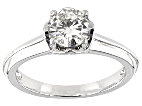 Pre-Owned Moissanite Ring Platineve™ 1.00ct DEW