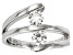 Pre-Owned Moissanite Ring Platineve .66ctw DEW