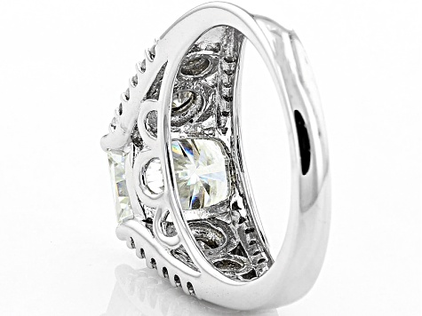 Pre-Owned Moissanite Platineve Ring 3.26ctw D.E.W