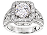 Pre-Owned Cubic Zirconia Platineve Ring 4.73ctw