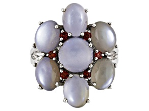 Pre-Owned Gray Moonstone Sterling Silver Ring .27ctw