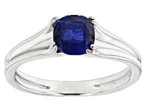 Pre-Owned Blue Nepalese Kyanite Sterling Silver Ring 1.10ctw