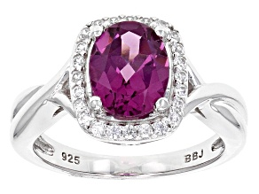 Pre-Owned Purple Rhodolite Sterling Silver Ring 1.98ctw