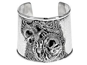 Pre-Owned Sterling Silver Dragon Bracelet