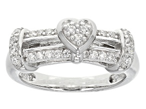 Pre-Owned Cubic Zirconia Silver Ring .52ctw (.37ctw DEW)