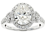 Pre-Owned Moissanite Platineve Ring 3.58ctw DEW