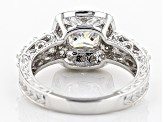 Pre-Owned Moissanite Platineve Ring 1.84ctw D.E.W