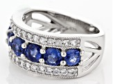 Pre-Owned Blue Kyanite Sterling Silver Ring 2.53ctw