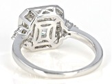 Pre-Owned Moissanite Platineve Ring 2.14ctw DEW
