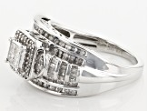 Pre-Owned Diamond Silver Ring .65ctw