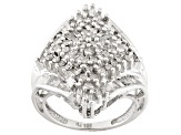 Pre-Owned Diamond 10k White Gold Ring 1.55ctw