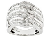 Pre-Owned Diamond Sterling Silver Ring 1.95ctw