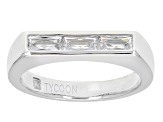 Pre-Owned White Cubic Zirconia Platineve Ring 1.02ctw