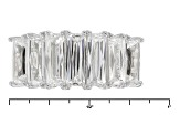 Pre-Owned White Cubic Zirconia Platineve Ring 5.15ctw