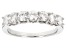Pre-Owned Moissanite Ring Platineve™ 1.12ctw DEW