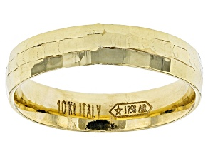 Pre-Owned 10k Yellow Gold Hollow Band Ring