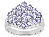 Pre-Owned Blue Tanzanite Sterling Silver Ring 2.34ctw