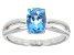 Pre-Owned Swiss Blue Topaz 14k White Gold Ring 1.39ct