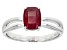 Pre-Owned Mahaleo Ruby 14k White Gold Ring 1.59ct
