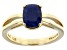 Pre-Owned Blue Sapphire 14k Yellow Gold Ring 1.74ct.