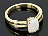 Pre-Owned Ethiopian Opal 14k Yellow Gold Ring .77ct.