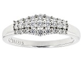 Pre-Owned Moissanite Ring Platineve .51ctw DEW
