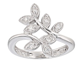 Pre-Owned Moissanite Platineve Ring .16ctw D.E.W