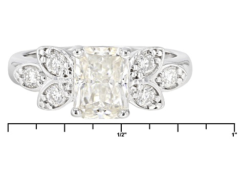 Pre-Owned Moissanite Platineve Ring 2.16ctw D.E.W