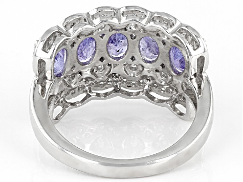 Pre-Owned Blue Tanzanite Sterling Silver Ring 3.15ctw