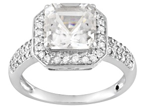 Pre-Owned Danburite 10k White Gold Ring 2.51ctw