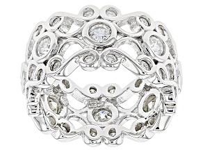 Pre-Owned Moissanite Platineve Ring 1.68ctw D.E.W