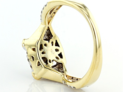 Pre-Owned Diamond 10k Yellow Gold Ring .75ctw