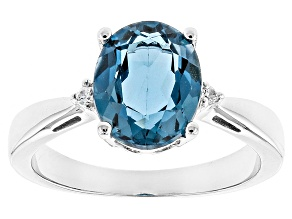 Pre-Owned London Blue Topaz Sterling Silver Ring 2.71ctw