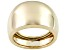 Pre-Owned 10k Yellow Gold Wide Band Ring With Tapered Shank