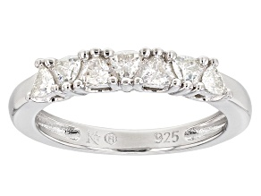 Pre-Owned Moissanite Platineve Ring .35ctw D.E.W