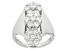 Pre-Owned Moissanite Ring Platineve™ 2.10ctw DEW