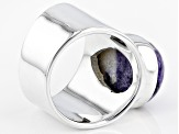 Pre-Owned Purple Mexican Morado Opal Sterling Silver Ring